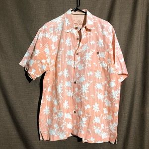Tommy Bahama Mens Hawaiian Button Down Shirt
